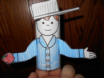 Making Learning Fun Johnny Appleseed Toilet Paper Tube